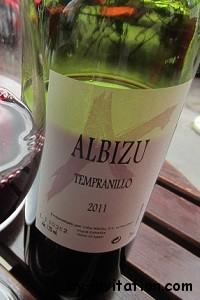 Albizu Tempranillo 2011