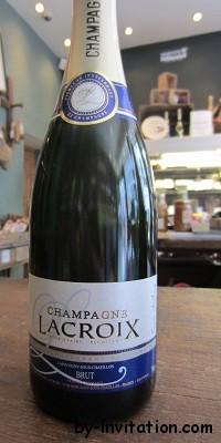 Champagne Lacroix Cuvee Anthony Blanc de Noirs nv