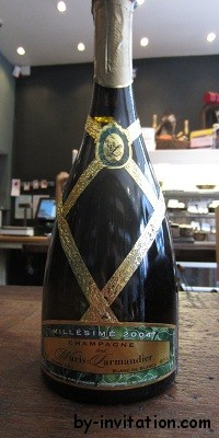 Champagne Waris Larmandier Cuvee Empriente Vintage 2002 Blanc de Blanc Grand Cru