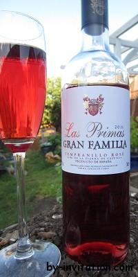 Las Primas Gran Familia Tempranillo Rose 2011