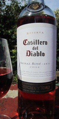 Casillero del Diablo Shiraz Rose 2012