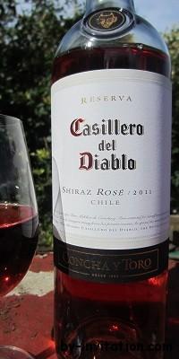 Casillero del Diablo Shiraz Rose 2012