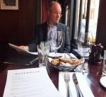 Simon Narracott at a Winetasting