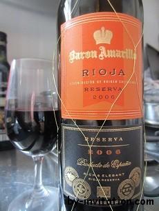 Baron Amarilla Rioja Reserva 2006