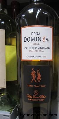 Dona Dominga Gran Reserva Chardonnay 2010
