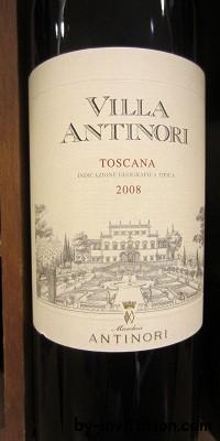 Villa Antinori Rosso Toscana 2008