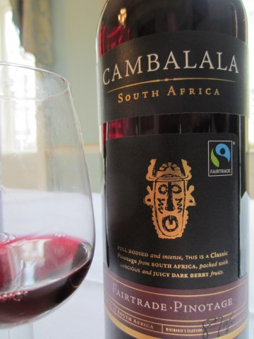 Cambalala Fairtrade Pinotage 2012