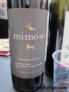 Castello di Montegiove Mimoso Orvientano Rosso DOC 2009