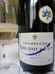 Champagne Philizot and Fils Brut NV Numero 3