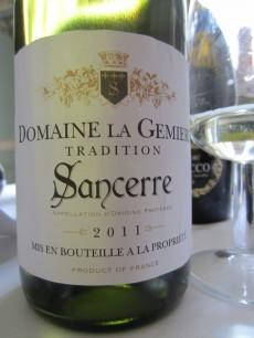Domain la Germiere Sancerre 2011