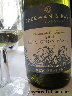 Freemans Bay Sauvignon Blanc 2011