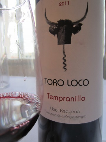 Tora Loco Tempranillo Utiel Requeña 2011