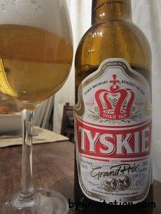 Tyskie Gronie Beer