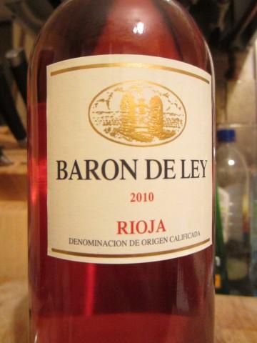 Baron De Ley Rioja Rosado 2010