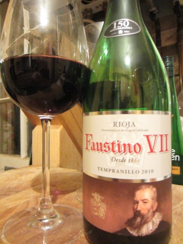 Faustino VII Rioja Tempranillo 2010