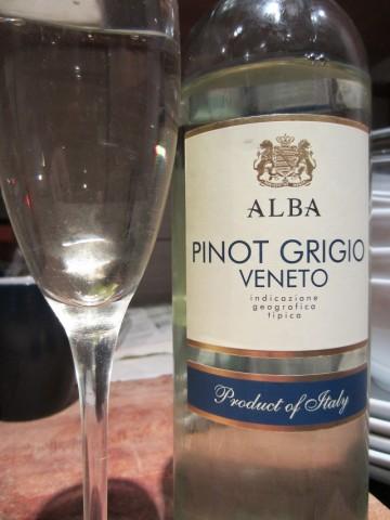 Alba Veneto Pino Grigio 2011
