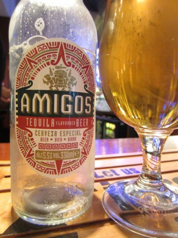 Amigos Tequila Flavoured Mexico Beer