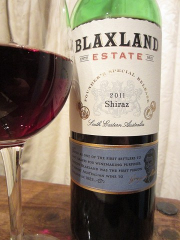 Blaxland Estate Shiraz 2011