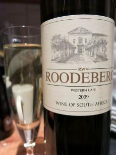 KWV Roodeberg Western Cape 2009