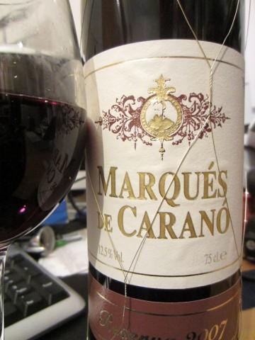 Marqués De Caranó Reserva 2007