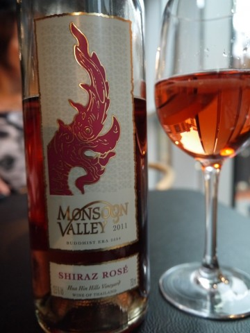 Monsoon Valley Shiraz Rose 2011 Thailand