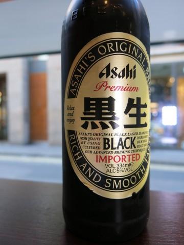 Asahi Premium Black Lager