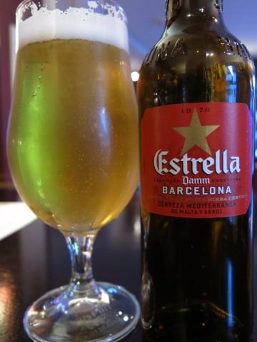 Cerveza Estrella Damm Barcelona