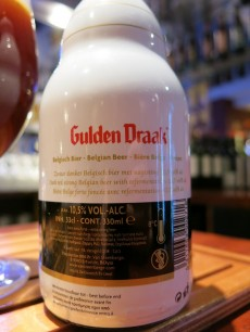 Gulden Draak Belgium Beer - Back