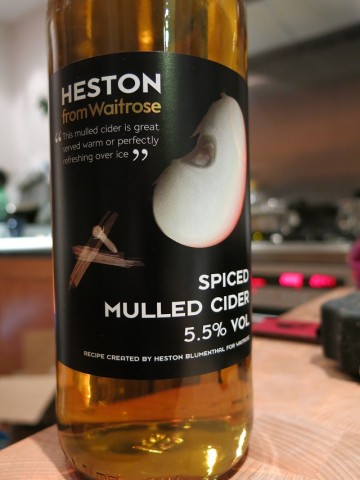 Heston Spiced Mulled Cider