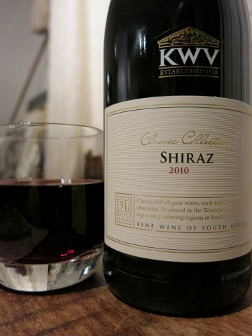 KWV Classic Collection Shiraz 2010