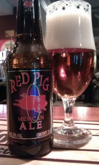 Red Pig Mexican Ale Glass