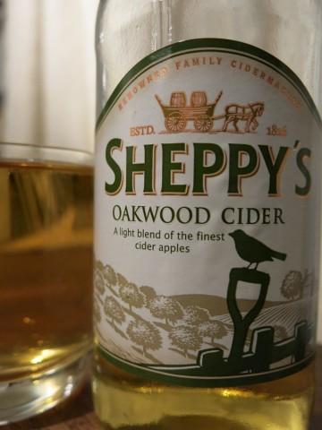 Sheppys Oakwood Cider