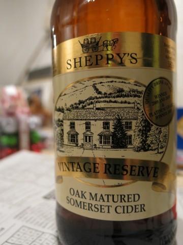 Sheppys Vintage Reserve Oak Matured Cider 2011