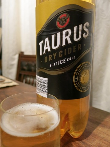 Taurus Dry Cider