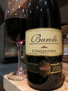 Barolo Conventino 2008
