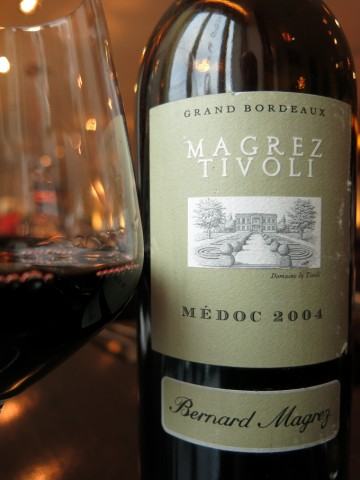 Bernard Magrez Tivoli Médoc 2004