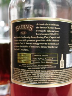 Burns Ale Back