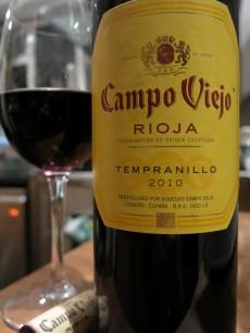 Campo Viejo Rioja Tempranillo 2010