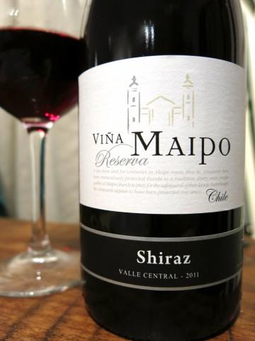 Chili Shiraz Vina Maipo Reserva 2011