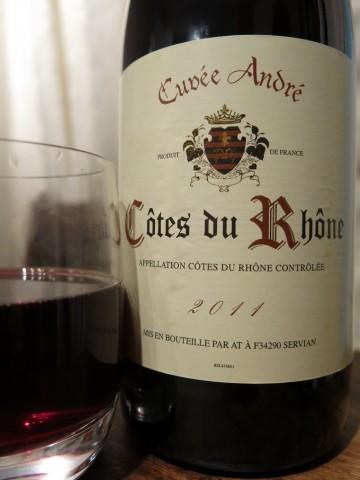 Cuvée André Côtes du Rhône 2011