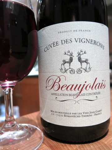 Cuvée des Vignerons Beaujolais 2011