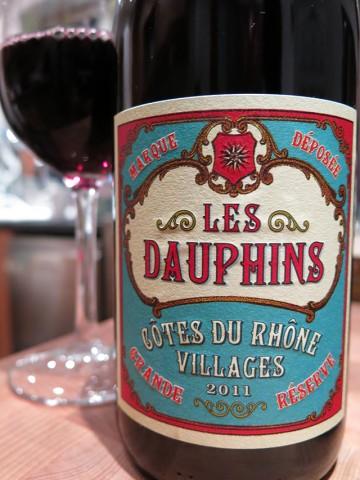 Les Dauphins Cotes du Rhone Villages 2011 Grande Reserve
