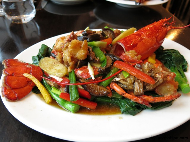 Mango Tree Belgravia Lobster