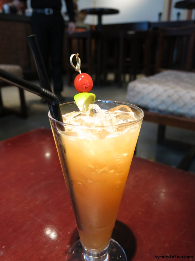 Mango Tree Thai Sunrise Cocktail