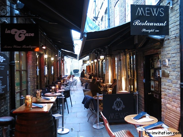 Mews Restaurant London