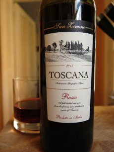 San Zenone Toscana Rosso 2011