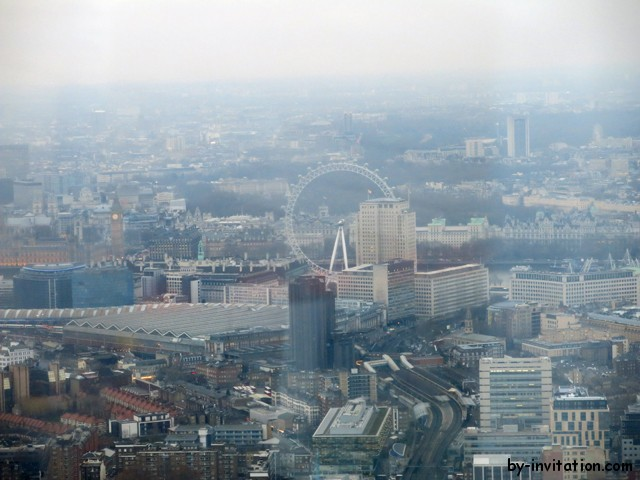 The View From The Shard London Eye in the day