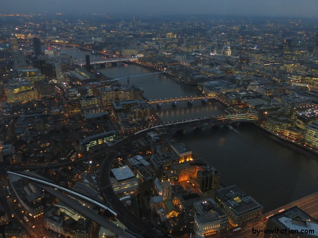 The View From The Shard London St Pauls Dusk