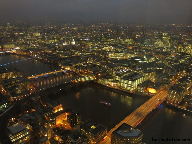 The View From The Shard London St Pauls Night