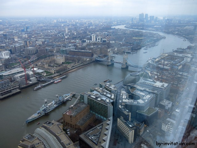 The View From The Shard London Tower Bridge Daylight